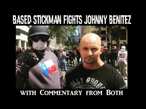 Kyle Chapman (Based Stickman) Fights Johnny Benitez with Commentary From Both