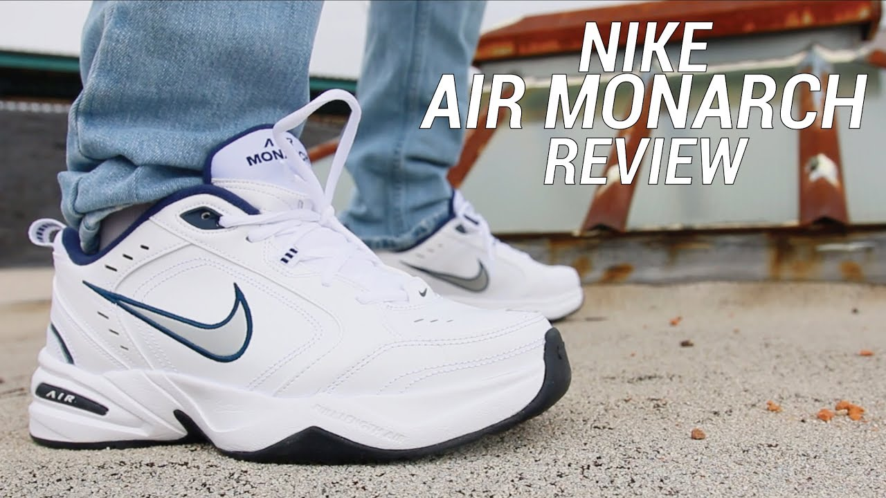 huge selection of 98c66 c653f NIKE AIR MONARCH REVIEW - THE ULTIMATE DAD SHOE