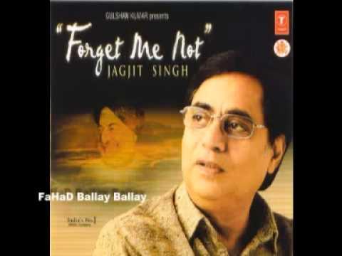 TERA CHEHRAHAI AAINA Jagjit Singh Album FORGET ME NOT