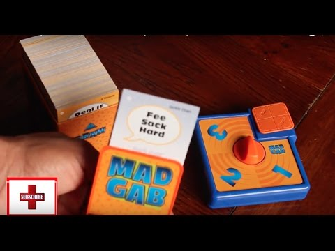 How To Play Mad Gab By The Game Doctor Board Game Youtube