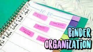 How I Organize my Binder Book — Bahasa