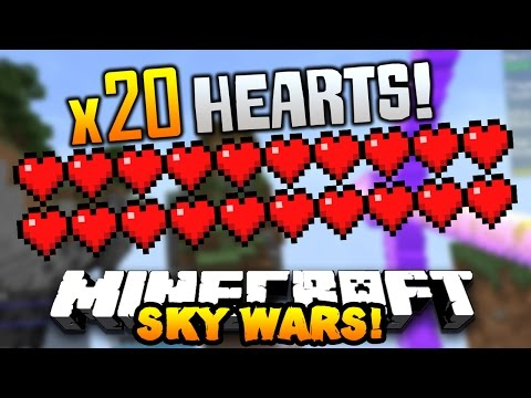 "Minecraft TEAM SKYWARS #16 ""DOUBLE HEALTH HACKER!"" w/PrestonPlayz & LandonMC"