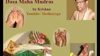 Sri Vidya Dasa Maha Mudras by Krishna