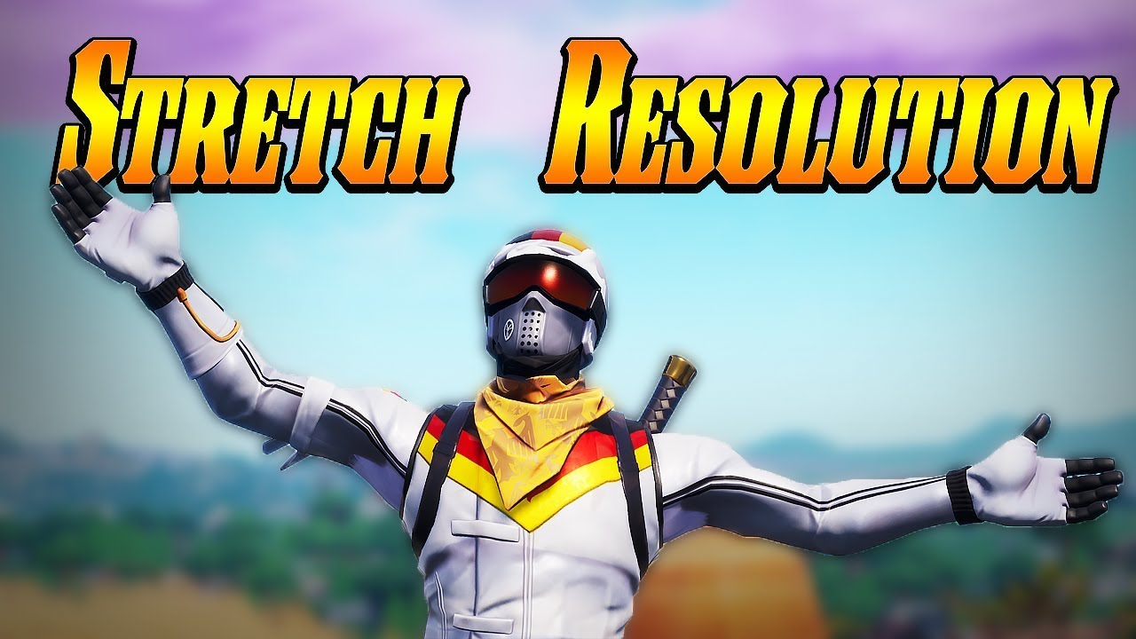 How To Stretch Resolution In Fortnite 1440x1080