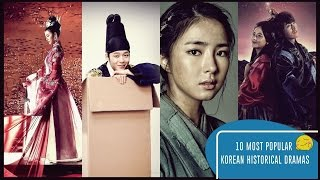 Video 10 Most Popular Korean Historical Dramas download MP3, 3GP, MP4, WEBM, AVI, FLV Juli 2018