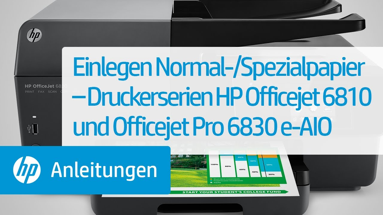Einlegen Normal-/Spezialpapier – Druckerserien HP ... | 1280 x 720 jpeg 66kB