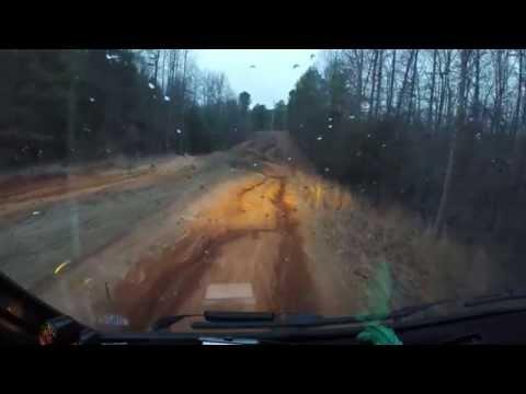 VW Westfalia Syncro does Jeep tricks
