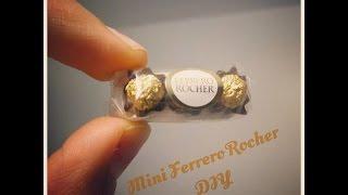 How to Make a Mini Ferrero Rocher Pack (Tutorial)