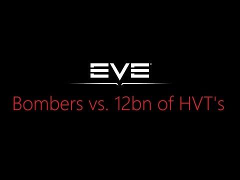 Stealth Bombers vs. 12bn of Targets - Bombers Bar Fleet
