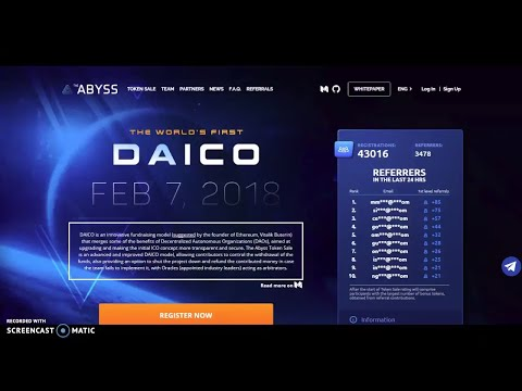 The Abyss ICO (Quick Overview)