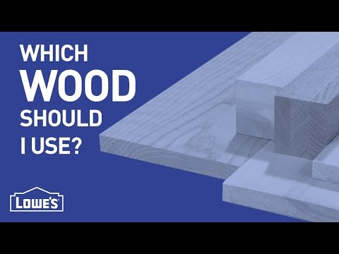 Which Wood Should I Use? | DIY Basics
