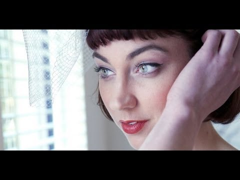 Vegan and Eco Vintage Wedding Makeup Tutorial by Adorn and Ethical Bride