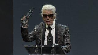 Karl Lagerfeld | Outstanding Achievement | British Fashion Awards 2015