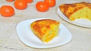 Пирог из тыквы быстро и вкусно