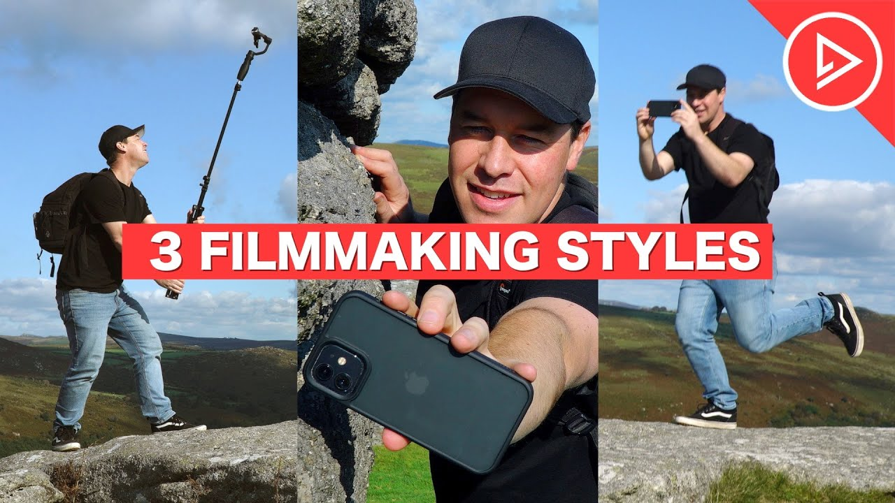 3 Filmmaking Styles For Beginners | How To Use Music & Camera Movement To 'SET THE MOOD'