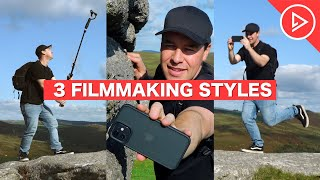 3 Filmmaking Styles F๐r Beginners   How To Use Music & Camera Movement To 'SET THE MOOD'