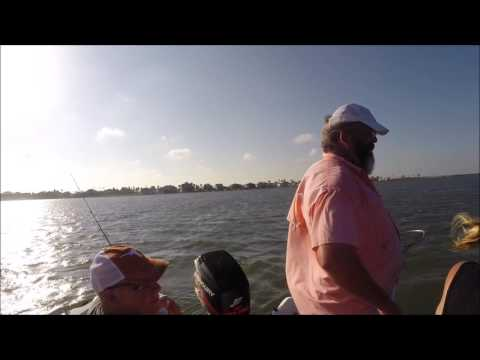 Man Overboard on a Fishing Boat out of Port Aransas, Texas