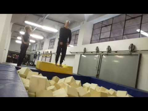 E.R.S. workout parkour s Markem Kaňkou :-)