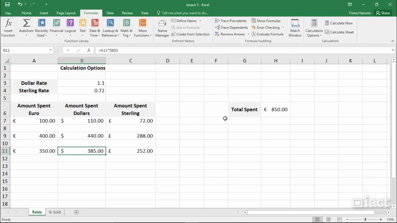 Binary option calculator excel