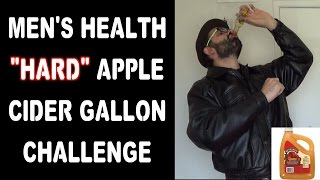 "Food Challenge: ""hard"" Apple Cider Gallon Chug Warning Very Painful 