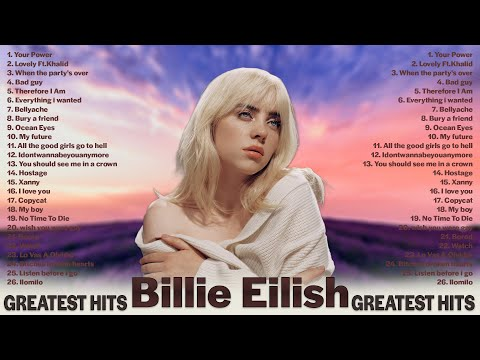The Best Of  BillieEilish  - Greatest Hits 2021