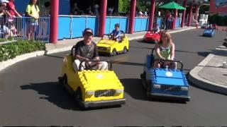 Legoland California: Lego Car Race