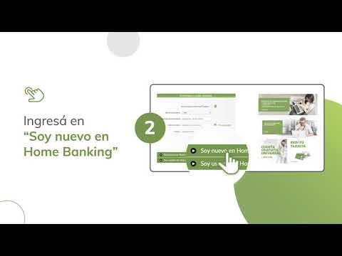 ¿Cómo Crear Tu Usuario De Home Banking?