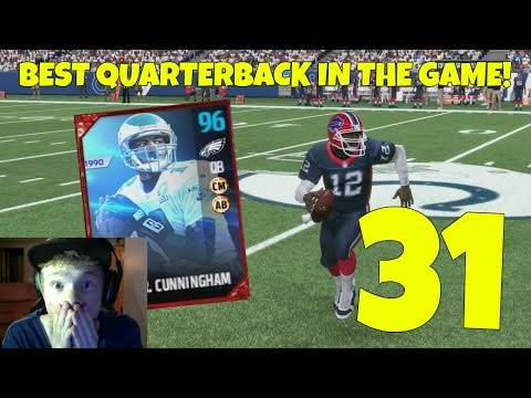 RANDALL CUNNINGHAM! THE BEST QUARTERBACK IN THE GAME! - MADDEN 17 ULTIMATE TEAM GAMEPLAY EP 31