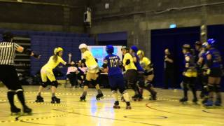 ARRG Home Teams 2012: Leithal Weapons v The Skatefast Club : Jam 13 Period 1