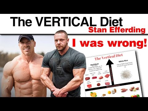 Stan Efferding I'm Sorry | Vertical Diet