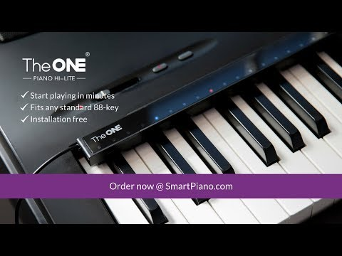 Introducing The ONE Piano Hi-Lite and Start Playing in Minutes
