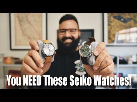 2 Seiko Watches Everyone Should Own (Plus, Contest Winner Chosen!)