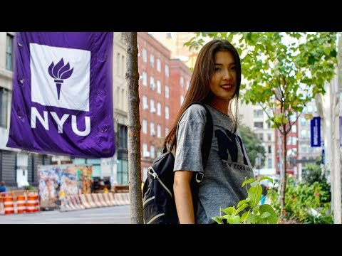 College Day In My Life At NYU    New York University