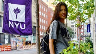 College Day in My Life at NYU  | New York University