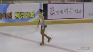이해인 SP Hae-In LEE (도장중) | 2012-11-03 랭킹대회 | 여자싱글 1그룹 04