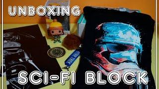 Unboxing SCI-FI BLOCK DECEMBER
