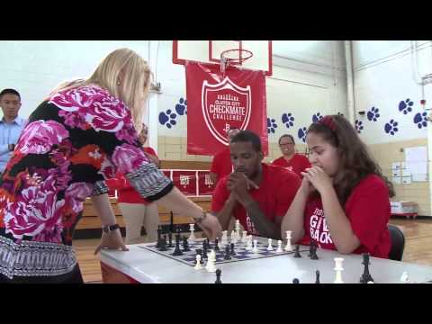 Chess Champion Visits Baylor College of Medicine Academy at Ryan
