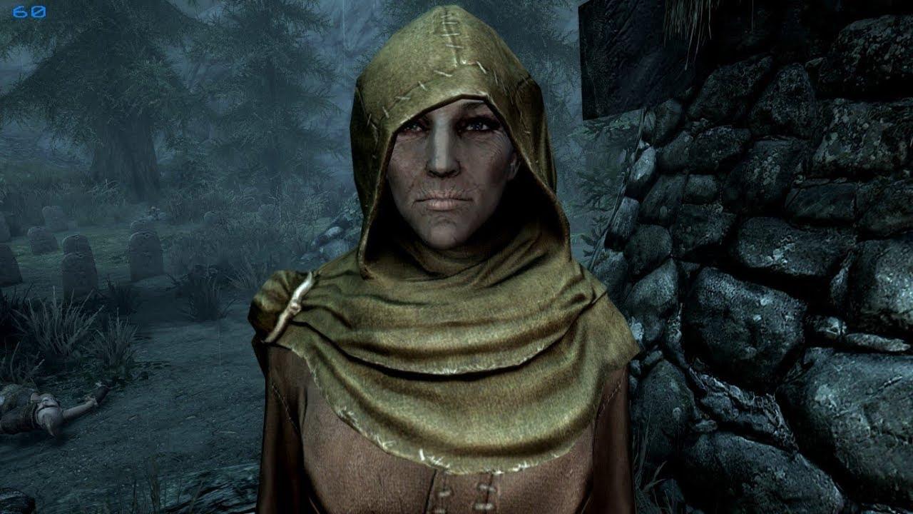 skyrim mods priestess of