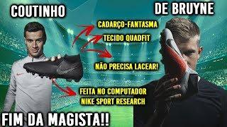 NOVA CHUTEIRA DA NIKE: PHANTOM VISION (COUTINHO E DE BRUYNE) - FIM DA MAGISTA!!?