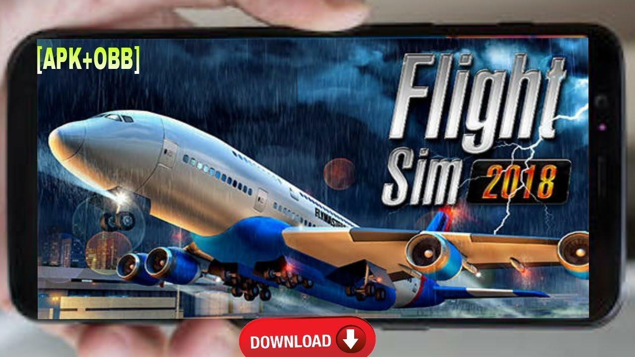 download new flight simulator 2018