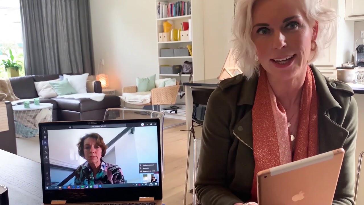 Lijden & leiden tijdens Corona: vlog interview met Lia Belilos Robeco