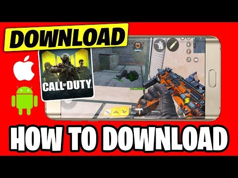 How To Download Call Of Duty Mobile RIGHT NOW.. (ANDROID/IOS)