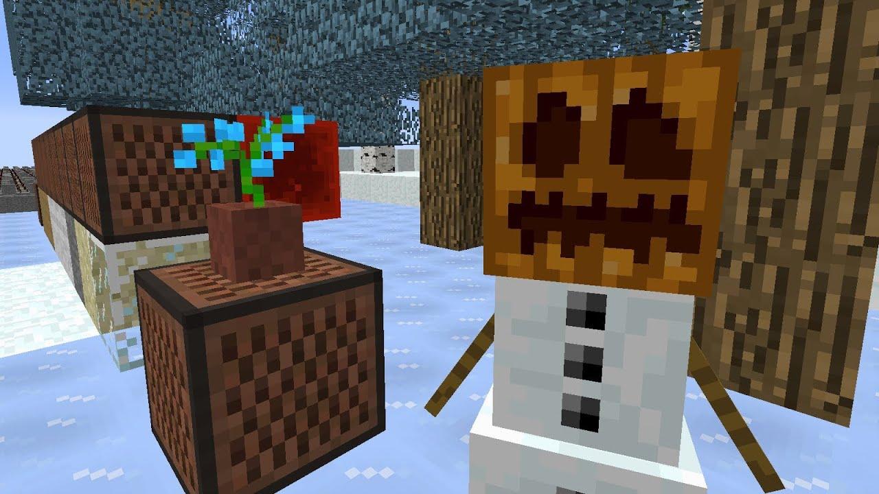 Frozen - Let It Go - Minecraft Note Block Song - YouTube