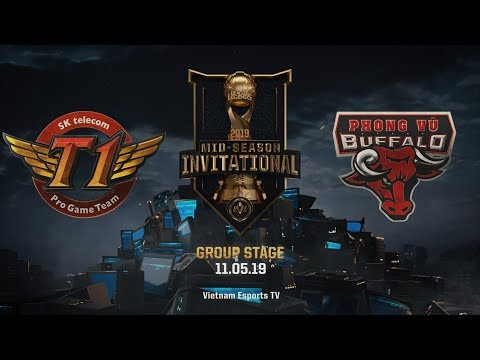 SKT vs PVB [HighLights MSI 2019] [11.05.2019] [Group Stage]