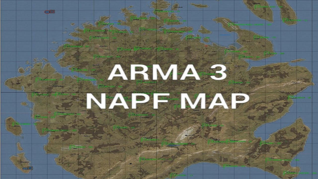 NEW ARMA 3 MAP!!! Napf Map for Arma 3 Exile
