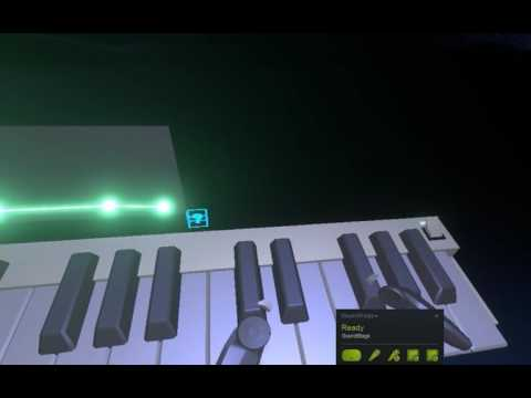Writing 80's Beats in Virtual Reality (Soundstage on HTC Vive)