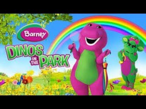 Barney Dinos In The Park