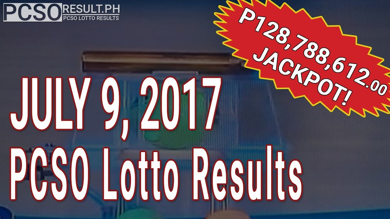 Pcso Lotto Results Today July   Swertres Ez