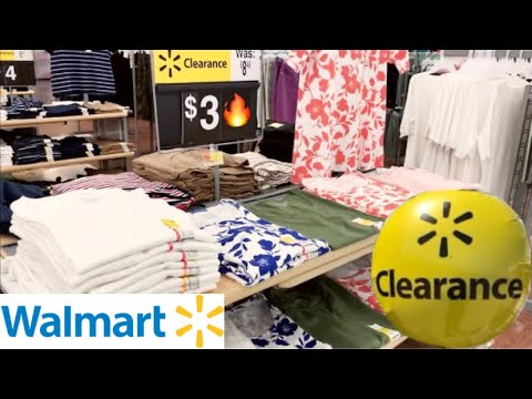 WALMART SHOPPING!!! *CLEARANCE CLOTHES* $5 AND UNDER!!!!
