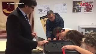 Tribunal Constitucional de España anula sesión sobre separación catalana 2017 Video